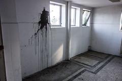 Black spot (mauriceweststrate) Tags: old school windows light black abandoned trash graffiti grafitti decay arnhem urbanexploration blackspot urbex abandonedschool vervallen rx100 mauriceweststrate
