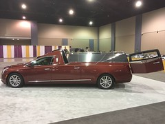 Cadillac XTS hearse/flower car (CasketCoach) Tags: hearse funeral mortuary mortician casket coffin cadillac flowercar
