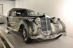 The New Petersen Automotive Museum (USautos98) Tags: sport 1937 cabriolet horch 857