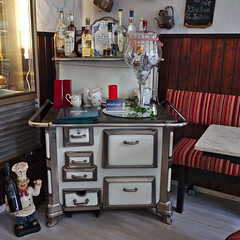 Good old times.... (diarnst) Tags: indoor panasonic stove herd hattingen lokal emaille gx8 homefurnishings classicphoto wohnungseinrichtung kohleherd