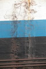 IMG_3557 (Mud Boy) Tags: newjersey jerseycity transit transportation path train lookslikeart detritus