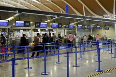 CX check-in desks (A. Wee) Tags: shanghai  pudong  airport  china  pvg checkin terminal terminal2