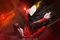 Rin Tohsaka | FATE/STAY NIGHT cos CAMI (CAA Photoshoot Magazine) Tags: portrait anime cosplay wordpress portraiture cosplayer cosplayers  caa fatestaynight rintohsaka 500px cosplayphotography unlimitedbladeworks ronaldoichi cosplayphotographer