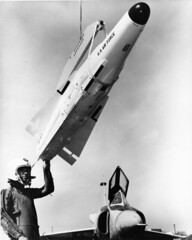 SDASM Aircraft Image (San Diego Air & Space Museum Archives) Tags: aviation aircraft airplane interceptor fighterpilot pressuresuit airtoairmissile hughesfalcon falconmissile nuclearmissile hughesaim26falcon aim26falcon hughesaim26 aim26 nuclearfalcon hughesgar11falcon hughesgar11 gar11falcon gar11 militaryaviation deltawing unitedstatesairforce usairforce usaf convair convairf102deltadagger convairf102 f102deltadagger f102 convairf102adeltadagger convairf102a f102adeltadagger f102a convairdeltadagger deltadagger prattwhitney prattwhitneyj57 pw pwj57 j57 j57p25