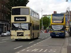 RV 620 D'Olier Street 16/07/16 (Csalem's Lot) Tags: dublin bus volvo rv bartons volvoolympian dolierstreet bartonsofmaynooth rv620 cruiseshuttle