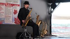 Canada Day Weekend 2016 4516 16x9 d (DaveyMacG) Tags: canada entertainment newbrunswick boardwalk canadaday saxophone marketsquare saintjohn canon6d