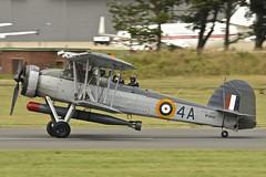 Landing, Fairey Swordfish Mk.I, W5856, Farnborough Airshow, 2016 (Peter Cook UK) Tags: show air hampshire airshow fairey torpedo farnborough swordfish 2016 mki w5856