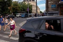 . (www.piotrowskipawel.pl) Tags: street city trip travel people woman car europe streetphotography photojournalism documentary streetscene lviv ukraine dailylife reportage documentaryphotography lvivoblast colorstreetphotography pawepiotrowski piotrowskipawelpl