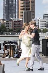 Tango aan de Maas, (Jan Sluijter) Tags: dancing dance netherlands maas holland tango rotterdam hotelnewyork wilhelminapier