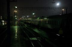 #5 (A.Shalaev) Tags: russia russianrailways 2015 ryazan snow night light november travel station