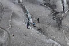 crossing (Alex Jacek) Tags: alps alpes alpine alpen alp ice hike icehiking hiking mountains mountain berge berg glacier gletscher ghiacciaio eis glace mountaineering gory gry seilschaft rope trio wandern risk danger switzerland aletsch aletschgletscher fiesch eggishorn