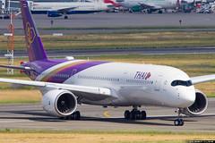 Thai Airways International Airbus A350-941 cn 044 F-WZGQ // HS-THB (Clment Alloing - CAphotography) Tags: thai airways international airbus a350941 cn 044 fwzgq hsthb