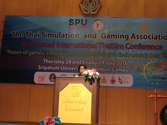 Thaisim Conference Day One (David Wortley) Tags: thaisim gamification simulations education chonburi learning