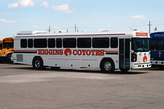 Higgins Coyotes Blue Bird All American T3RE (sj3mark) Tags: higgins coyotes higginsisd bluebird allamericanre t3re activitybus