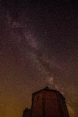 (fabiosphoto) Tags: italia italy abruzzo calascio milky way via lattea chiesa church maria piet