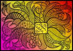 Dream Catcher (Nidhi Narula) Tags: zentange zendoodle copic blackwhite artjournal dailydoodle