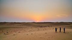 The Dubai Desert (Deniz Kilicci) Tags: dubai sony sonyalpha sonya6000 selp18105g sand sunset sun dusk desert arabiandesert dunes heat a6000
