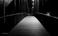Travessias ( I ) (antoninodias13) Tags: ponte nocturna luz pb passagens travessias madeira pedonal pinhalinteriorsul aldeiasdexisto centrogeodsico gastronomia maranho turismo lazer sert castelobranco portugal ribeiradasert