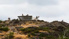 Sommet de montagne (dodo-12-37) Tags: victoria canada bc ile de vancouver plage bernache panoramique oiseau cerf volant olympic mountain bouchart garden reflet fleurs arbre fontaine