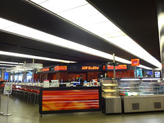Yo Sushi, St Pancras, London N1C (Kake .) Tags: stpancras london n1c