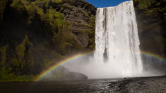 End of the Rainbow (friendak12) Tags: skgafoss skogar skogarfoss iceland southiceland ringroad waterfall rainbow magic majestic landscape landscapephotography water travel adventure travelphotography epic nature naturalworld naturalwonder serene