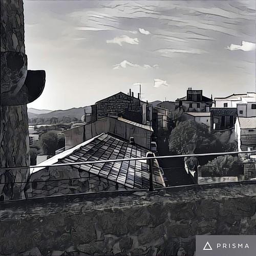 Vue sur les toits de #PortoVecchio  #MyPortoVecchio #visitportovecchio #Corse #prisma #igers_corsica #ig_corsica  #photographie #photooftheday