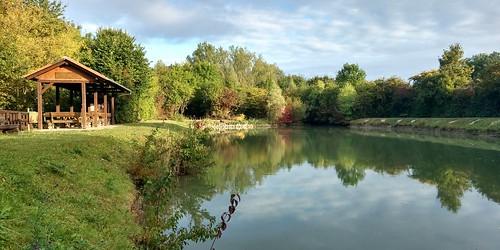 Der Fischteich der Angler vom Turnverein Selzen