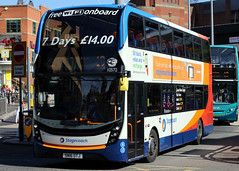 10572 SN16 OTJ (Cumberland Patriot) Tags: stagecoach north west england in on liverpool merseyside alexander dennis