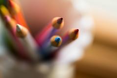 Colored Pencils (Captured Heart) Tags: pencil coloredpencil colorful art creativity color macromondays ppep