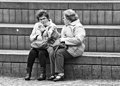 Conversating (Rick & Bart) Tags: city people belgique belgie candid strangers streetphotography luik lige urbanlife everydaypeople lttich rickbart rickvink