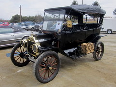 1914 Ford Model T Touring (splattergraphics) Tags: ford 1914 touring modelt swapmeet westminstermd carrollcountyagriculturalcenter sugarloafmountainregionaaca