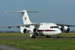 """BAe 146-100 (CC2), n° 32sq """"Queen's Flight"""" (OlivierBo35) Tags: queens raf bae146 rns"""