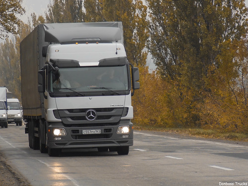 """Mercedes Benz Actros Mp3 """"SovTransAuto"""" (RUS)"""
