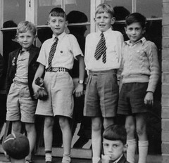 Arno Vale, Nottingham (theirhistory) Tags: uk school england boys shirt kids children photo clothing shoes uniform sandals tie class junior jumper shorts form primary sbelt