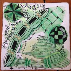 """#zentangle • <a style=""""font-size:0.8em;"""" href=""""http://www.flickr.com/photos/14001409@N08/16804423077/"""" target=""""_blank"""">View on Flickr</a>"""