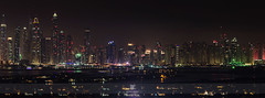 Internet City Skyline (B[squared]) Tags: city panorama skyline night evening nikon dubai internet uae d7000