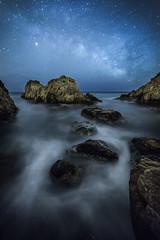 cala del mol (tofercu) Tags: seascape canon landscape mar costabrava 2014 hivern vialactea tonifernandez tofercu 5dmarkiii caladelmol