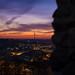 Sunset Over Vilnius