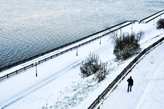 Black and White (Nathaniel Hunt) Tags: travel sunset snow russia wanderlust volga yaroslavl yearabroad