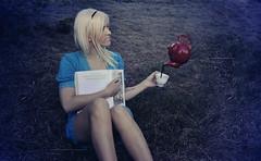 Alice (Throughtheeyesofafairy) Tags: blue tea surreal teapot teacup wonderland teaparty aliceinwonderland