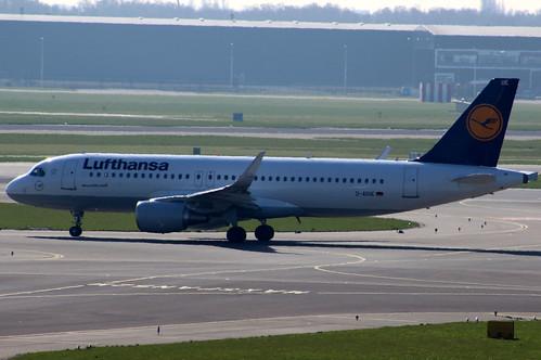 D-AIUE Airbus A320-214SL Lufthansa