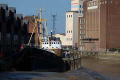 Soul Evaporation (perlmonger) Tags: river yorkshire hull rank trawler flourmill arcticcorsair kingstonuponhull riverhull eastriding clarenceflourmills rankhovismcdougal shotwelltower gameborecartridgecompany