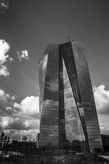 Frankfurt am Main - EZB (European Central Bank) (timmuennig) Tags: white black am european frankfurt main central bank ecb ezb