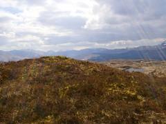 (ELIS ING) Tags: sunlight mountains clouds scotland spring britain perthshire april rays peaks trossachs westhighlandway crianlarich lochmaragan