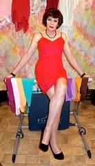 DSC05391 (msdaphnethos) Tags: ballet stockings tv cd tgirl transgender transvestite brunette barre slips daphnethomas