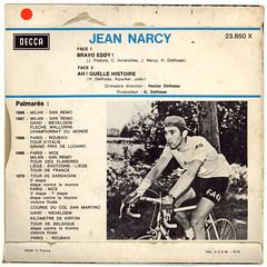 1970_jean_narcy_bravo_02_03 (Marc Wathieu) Tags: music back belgium belgique coverart rear vinyl pop cover record sleeve chanson backcover chansonfranaise rearcover chansonbelge