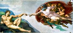 creation of adam 2abf retouch (Ernest Skiadas) Tags: adam photoshopped chapel creation michelangelo fresco sistine