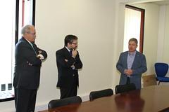Marco António Costa visita Empresas em Castelo Branco