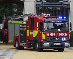 **NEW** London Fire Brigade **NEW** (999 Response) Tags: mercedes atego 1327f wv16nvy at cart marking guildhall yard 2016 new london fire brigade 999 lfb