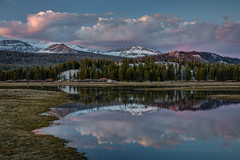 Tuolumne Meadows Twilight Reflection (Jeffrey Sullivan) Tags: california road travel sunset copyright usa reflection jeff nature canon landscape photography eos photo nationalpark twilight pond unitedstates pass may meadows yosemite yosemitenationalpark sullivan sierranevada hdr tuolumne highsierra tuolumnemeadows snowmelt tiogapass tioga 2016 5dmarkiii